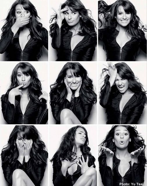 Facial expressions for modeling
