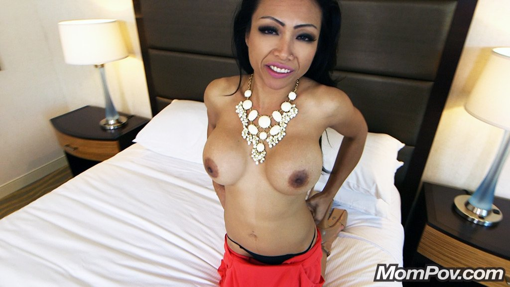 35 year old busty petite asian first timer
