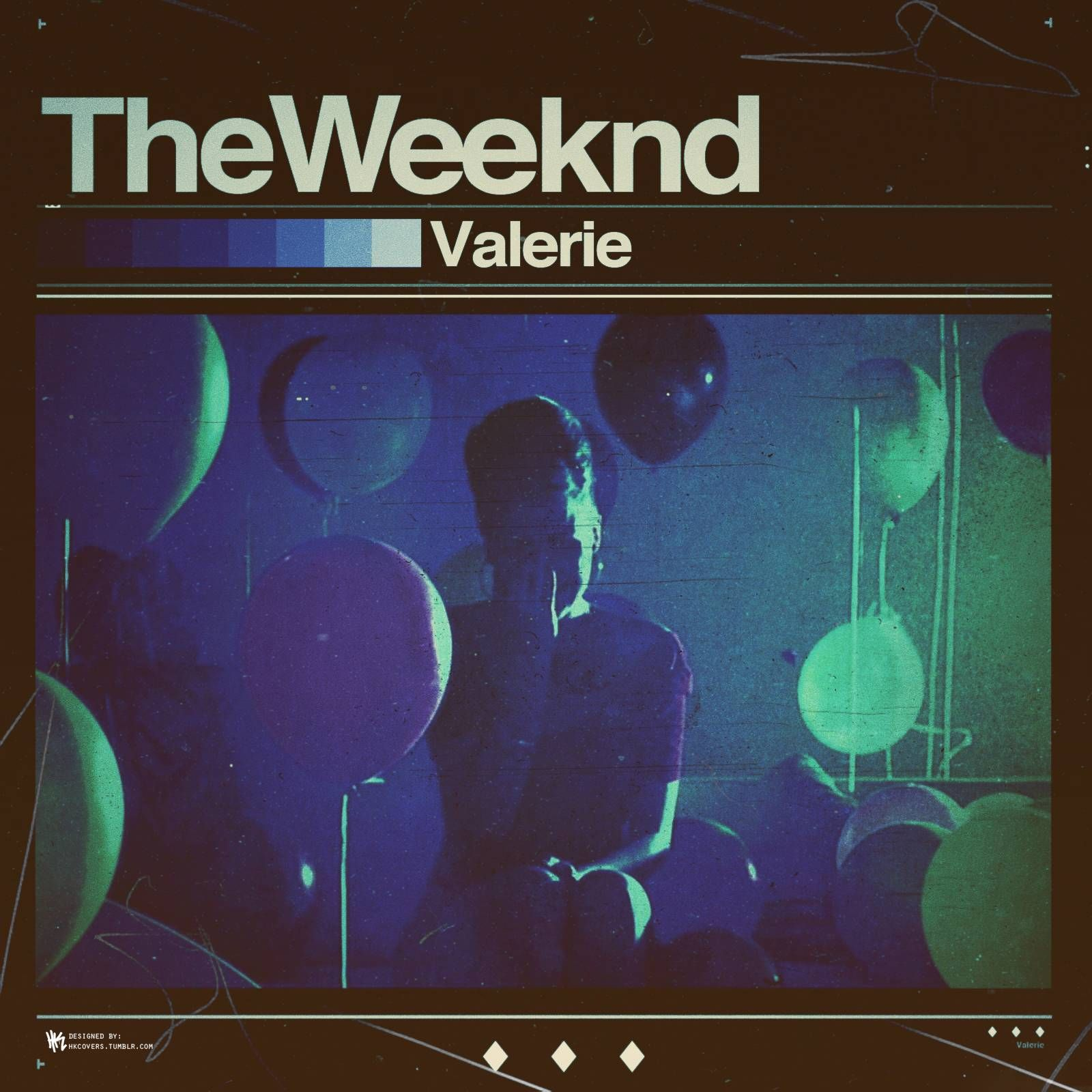 The weeknd valerie live