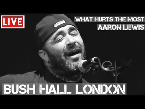 Aaron lewis what hurts the most live acoustic