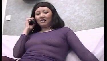 Asian mature take it in the ass