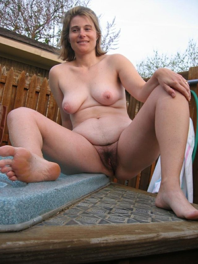 Naked hairy amateur mature