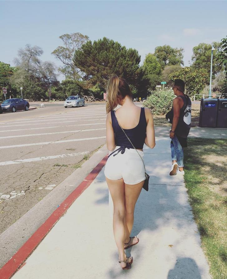 Candid booty