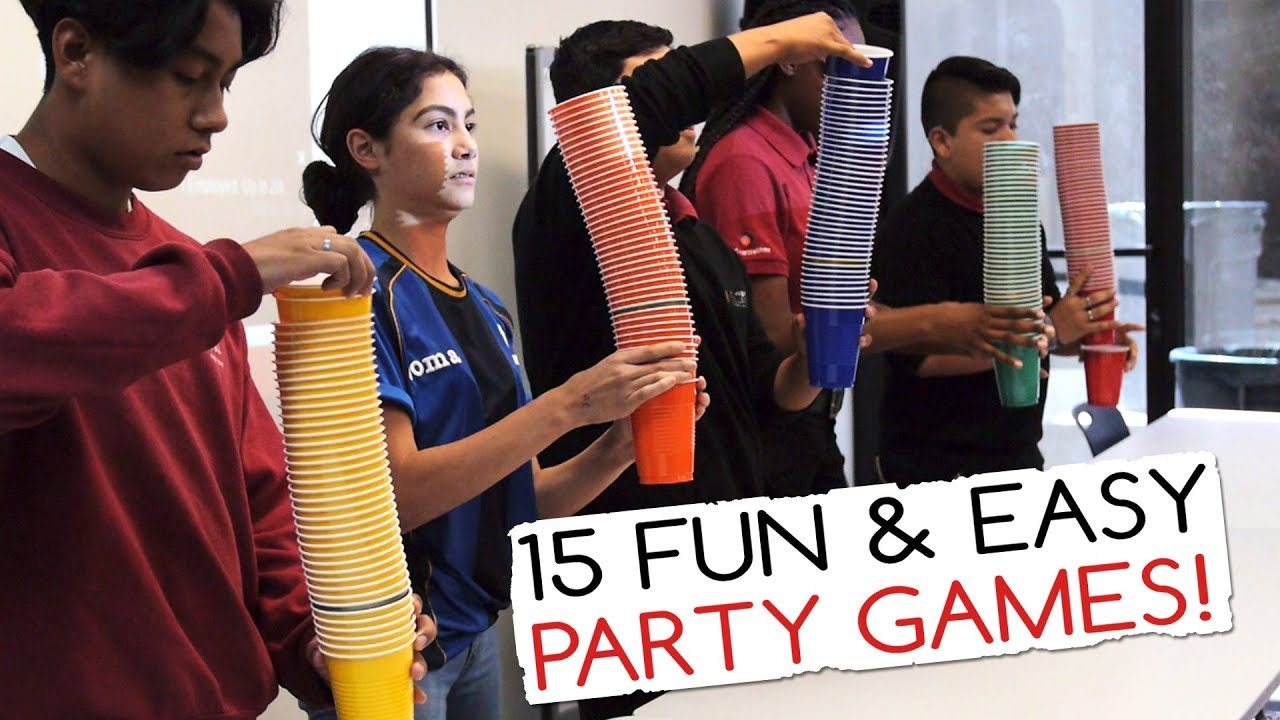 Games to play at parties for adults
