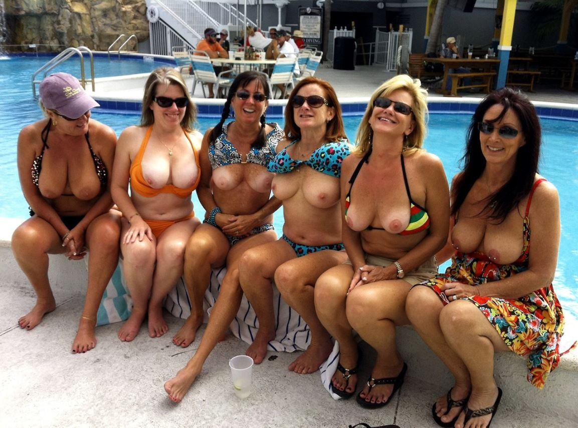 Naked pool party tumblr