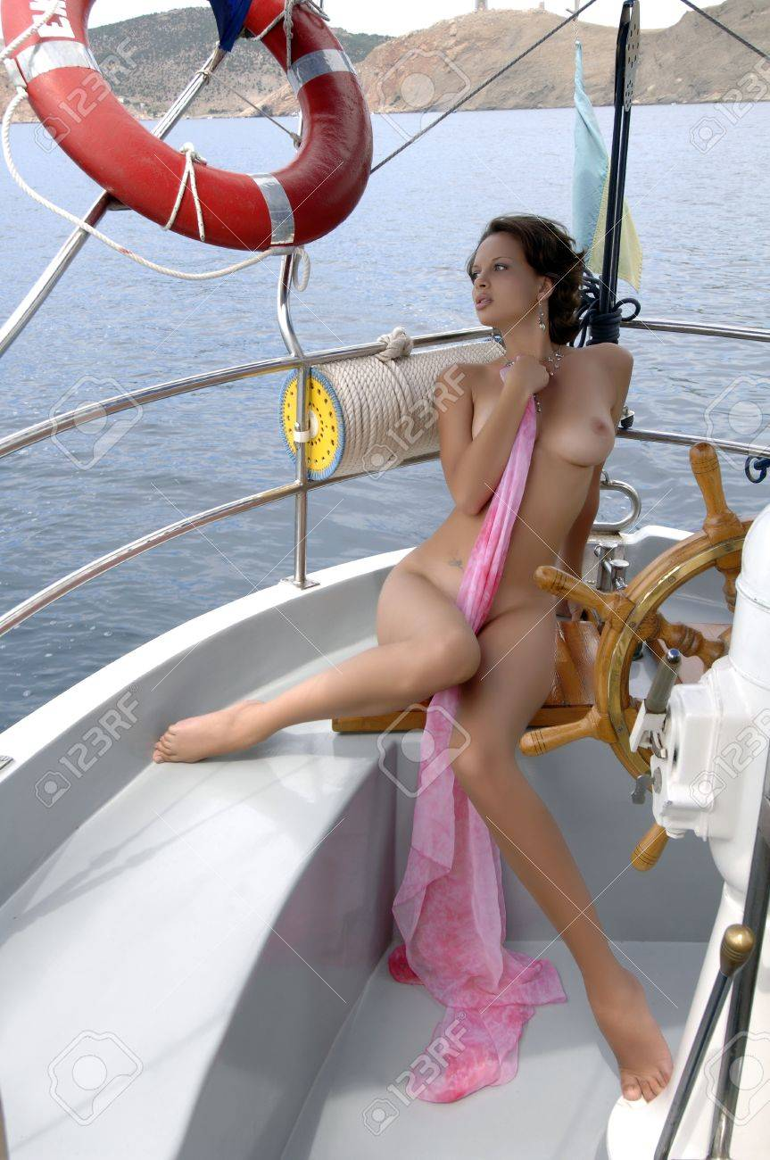 Pictures of naked ladies on a boat