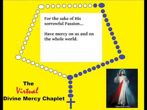 The chaplet of divine mercy rosary youtube